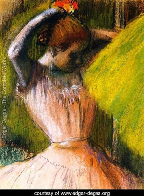 Ballet-Corps-Member-Fixing-Her-Hair
